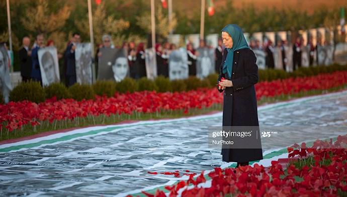 سالگرد قیام آبان۹۸ در اشرف۳ با حضور مریم رجوی
