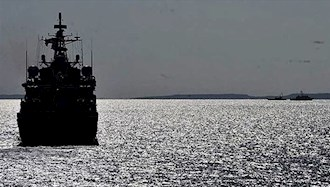 توقیف کشتی رژیم ایران در آبهای یمن