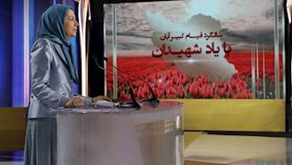 مریم رجوی رئیس جمهور برگزیده مقاومت ایران - سالگرد قیام کبیر آبان در اشرف۳ با یاد شهیدان
