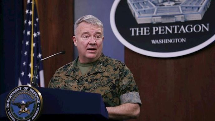ژنرال مک کینزی، فرمانده سنتکام