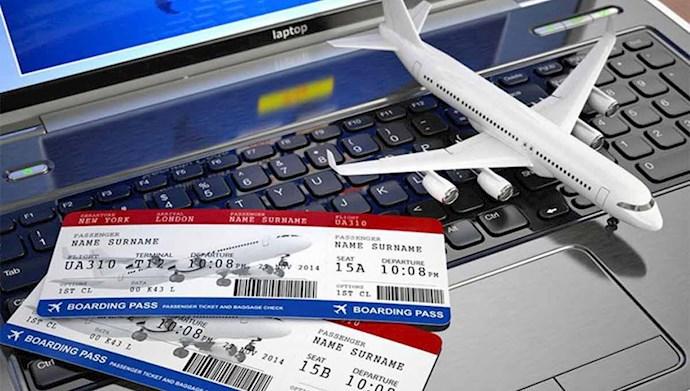 افزایش قیمت بلیط هواپیما در ایران