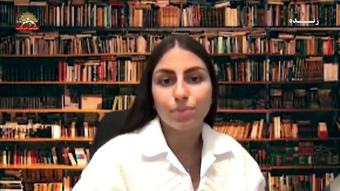 سخنرانی پریا گرمرودی – انجمن جوانان ایران دموکراتیک - کانادا - 0