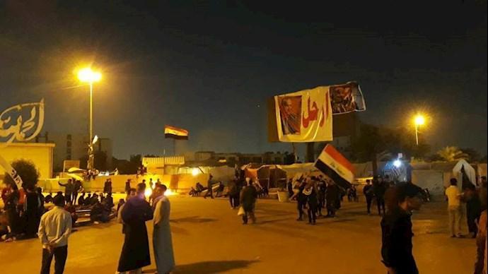 قیام کنندگان عراقی در نجف