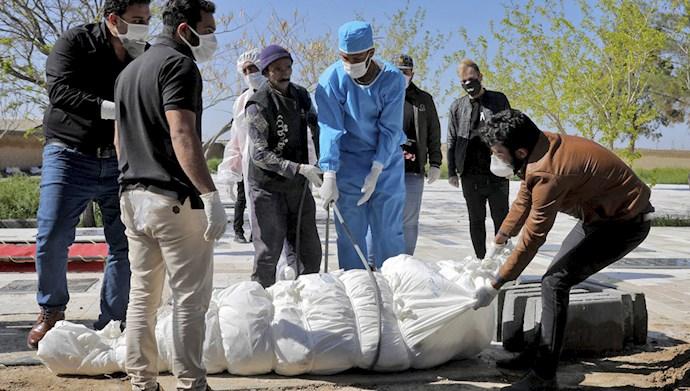 افزایش مرگ و میر کرونا در ایران