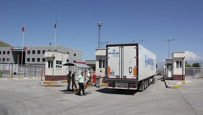 کاهش چهار برابری صادرات ایران به ترکیه