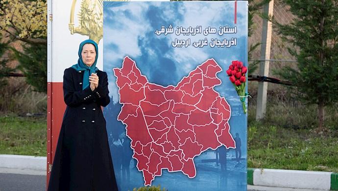 مراسم سالگرد قیام کبیر آبان در اشرف۳ با یاد شهیدان - 9