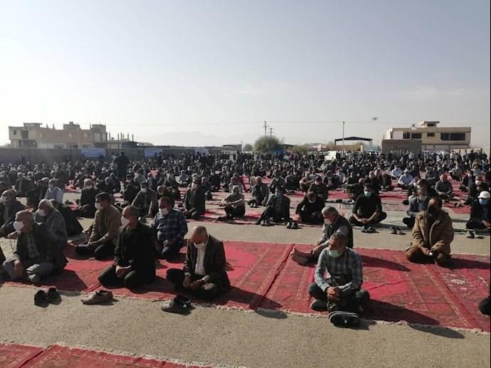 -تجمع اعتراضی کشاورزان اصفهان
