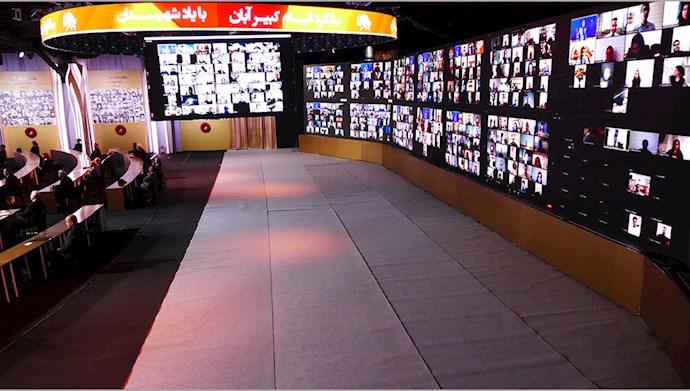 تصاویری از مراسم سالگرد قیام کبیر آبان در اشرف۳ با یاد شهیدان - 6