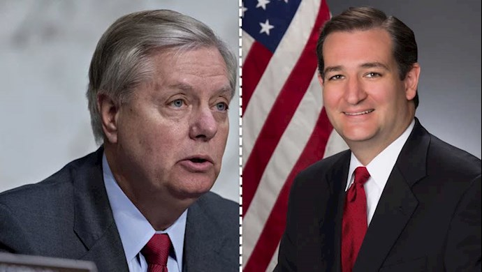 سناتور تد کروز  و سناتور لیندزی گراهام