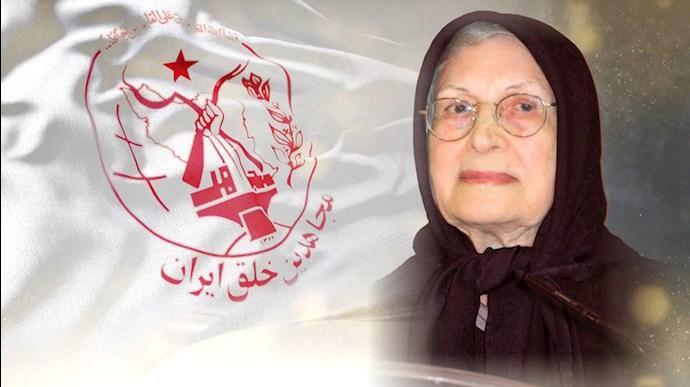 درگذشت مادر مجاهد فاطمهٔ کریمی (مادر فرزانهسا)