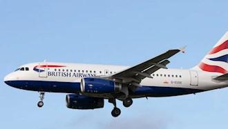 قطع پروازها به انگلستان