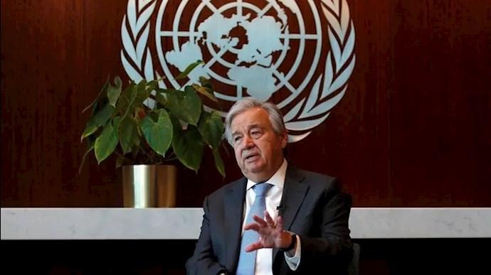 آنتونیو گوترش دبیرکل سازمان ملل