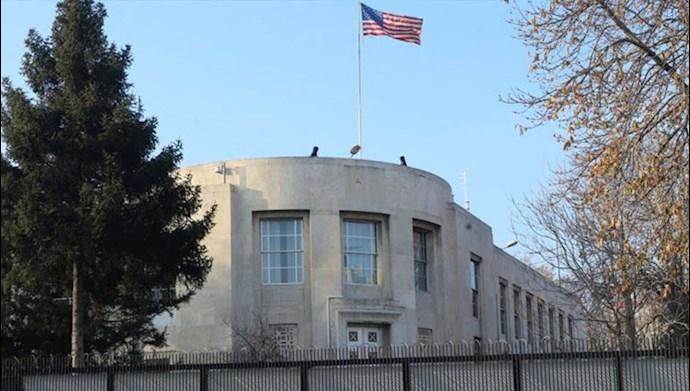سفارت آمریکا در سوریه- عکس از آرشیو