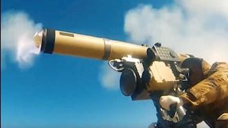شلیک موشک ضدتانک