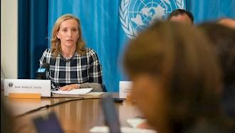 کلی کوری مسئول مسائل زنان در وزارتخارجه آمریکا