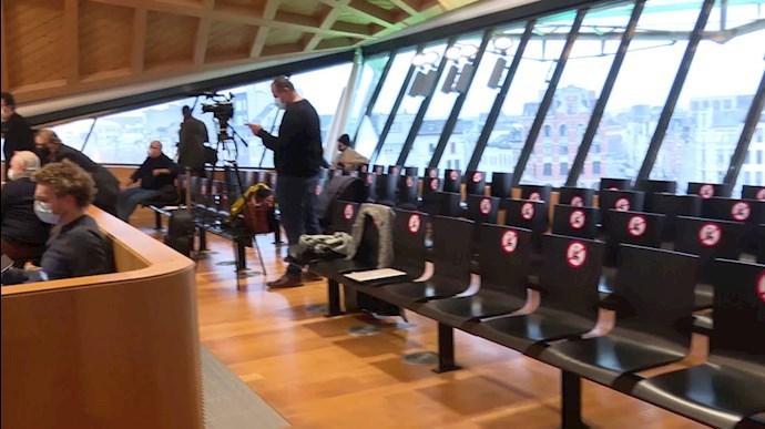 دادگاه بلژیک - آنتورپ محاکمه تروریستهای رژیم
