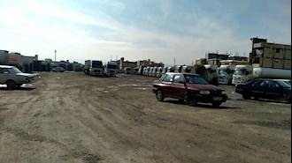 اعتصاب رانندگان تانکرهای سوخت رسان پمپبنزینها