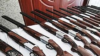 کشف سلاح در شهرها
