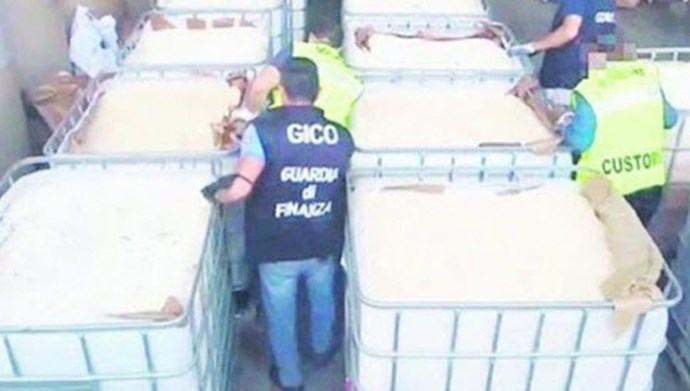 محمولههای قاچاق یک میلیارد دلاری مواد مخدر حزبالله در ایتالیا