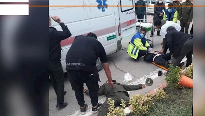 گوشمالی دو مأمور انتظامی توسط جوانان در شهرستان کیاکلای مازندران