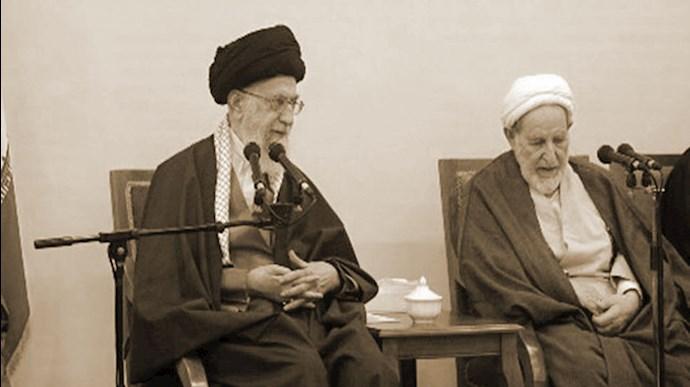 آخوند جلاد محمد یزدی - خامنهای ولی فقیه ارتجاع