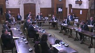 پارلمان انگلستان - جلسه گفتگو با وزیر خاورمیانه و مسئول در امور ایران درباره توطئه تروریستی رژیم