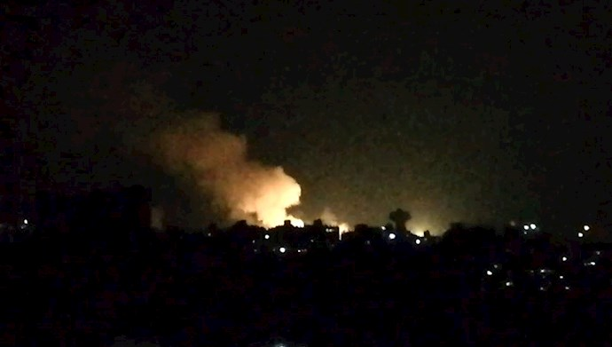 حمله هوایی به مقر شبه نظامیان رژیم ایران در سوریه - عکس از آرشیو
