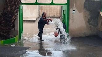 آبگرفتگی در خیابانهای اهواز