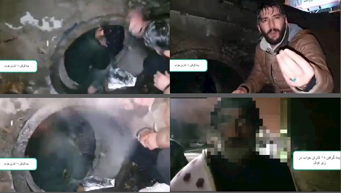 اصفهان - پناه گرفتن کارتن  خوابها در زیر تونل