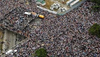 تظاهرات گسترده در ونزوئلا ضد دولت مادورو - آرشیو