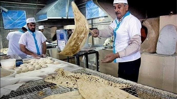 افزایش ۷۰ درصدی قیمت نان