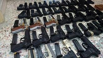 کشف ۱۱۶۴قبضه سلاح در سیستان و بلوچستان-آرشیو