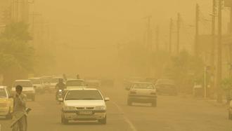گردوغبار و طوفان شدید ۱۵۰روستای ریگان کرمان
