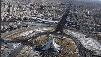 شکست بی سابقه نظام در برگزاری نمایش حکومتی ۲۲ بهمن