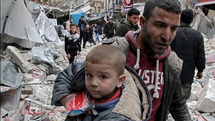 فاجعه انسانی در سوریه