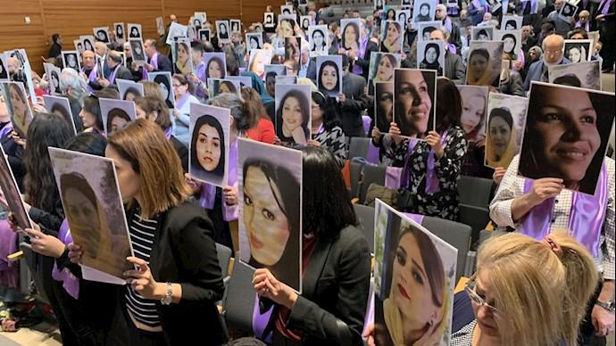 برگزاری روز جهانی زن در استکهلم سوئد