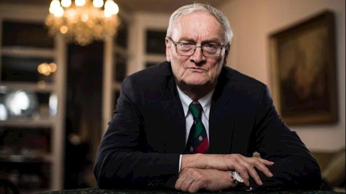 آگوست هانینگ، مشاور ارشد اتحاد علیه ایران هستهیی