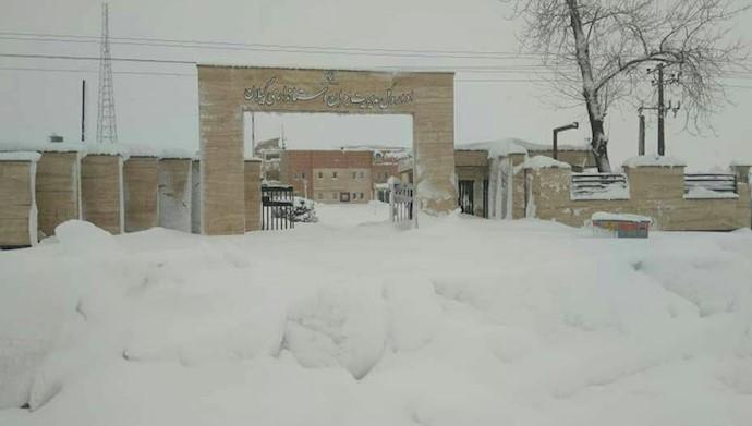 فجایع برف و سرما در گیلان