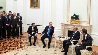 دیدار پوتین و اردوغان