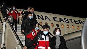 متخصصان چینی برای کمک به ایتالیا وارد این کشور شدند