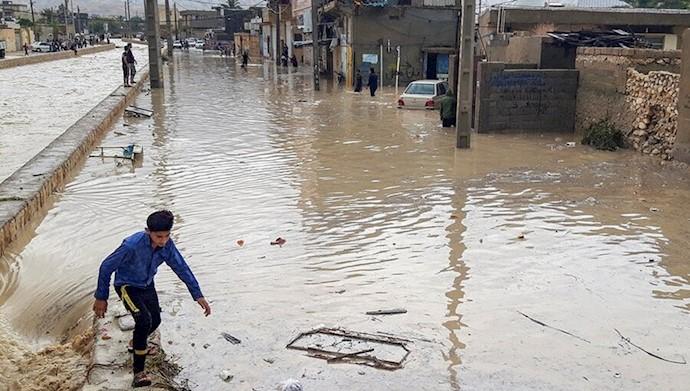 فاجعه سیل در ایران