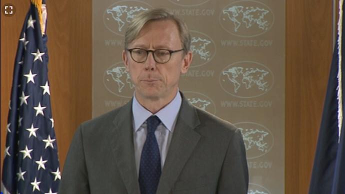 برایان هوک نماینده ویژه وزارتخارجه آمریکا برای ایران