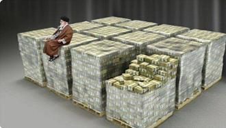 خامنه ای روی میلیاردها دلار نشسته
