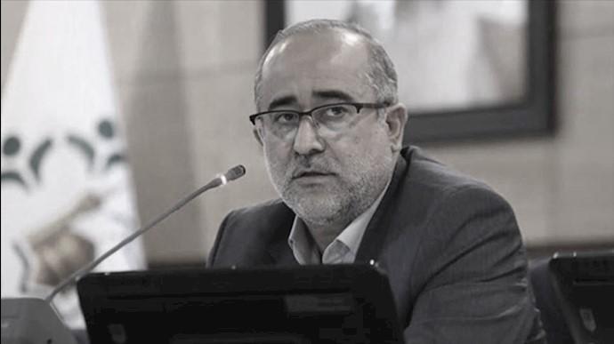 محمدرضا حیدری، رئیس شورای قلابی شهر مشهد