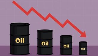 سقوط بی سابقه نفت