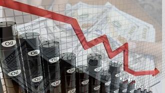 افت شدید  قیمت نفت و افزایش دلارو یورو