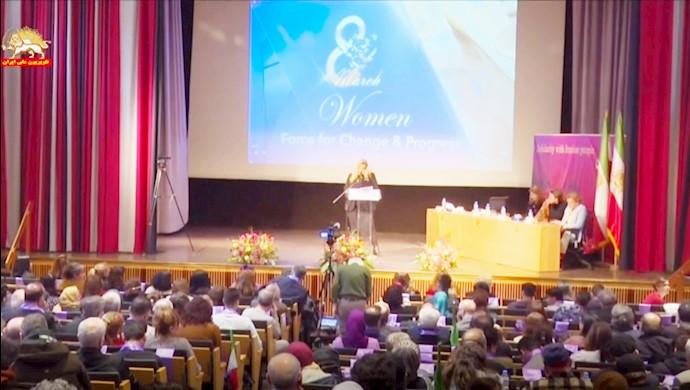 کنفرانس بینالمللی زنان نیروی تغییر در استکهلم سوئد