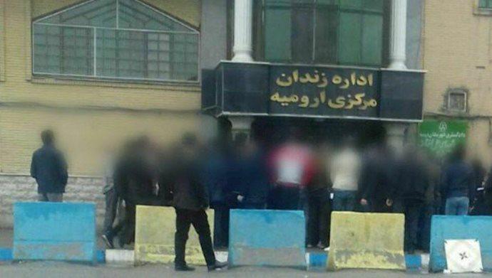 زندان مرکزی ارومیه - تجمع خانواده زندانیان ۹فروردین ۹۹