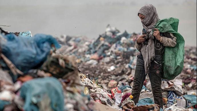 گسترش زباله گردی در اوج پاندومی کرونا