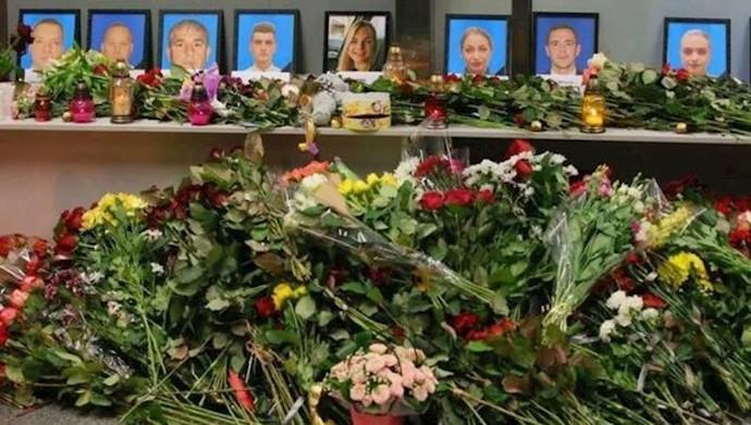 فاجعه سقوط هواپیمای اوکراینی توسط رژیم